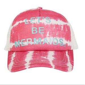 NWOT Billabong Ohana tie dye hat Let's Be Mermaids